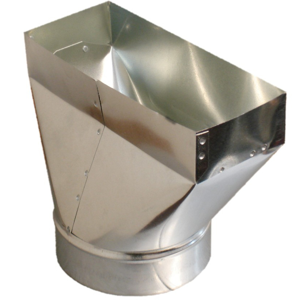 PH1 HVAC Sheet Metal Duct Register Boot