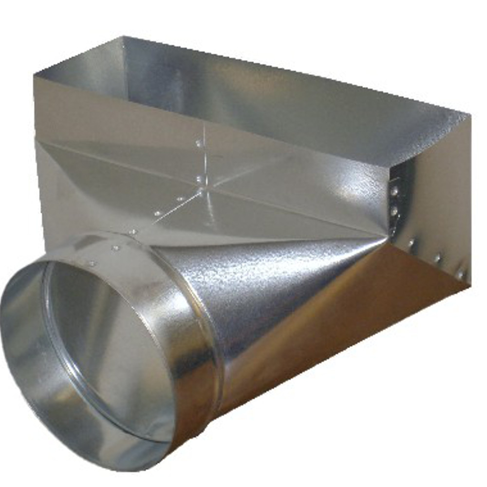 PH2 HVAC Sheet Metal Duct Register Boot