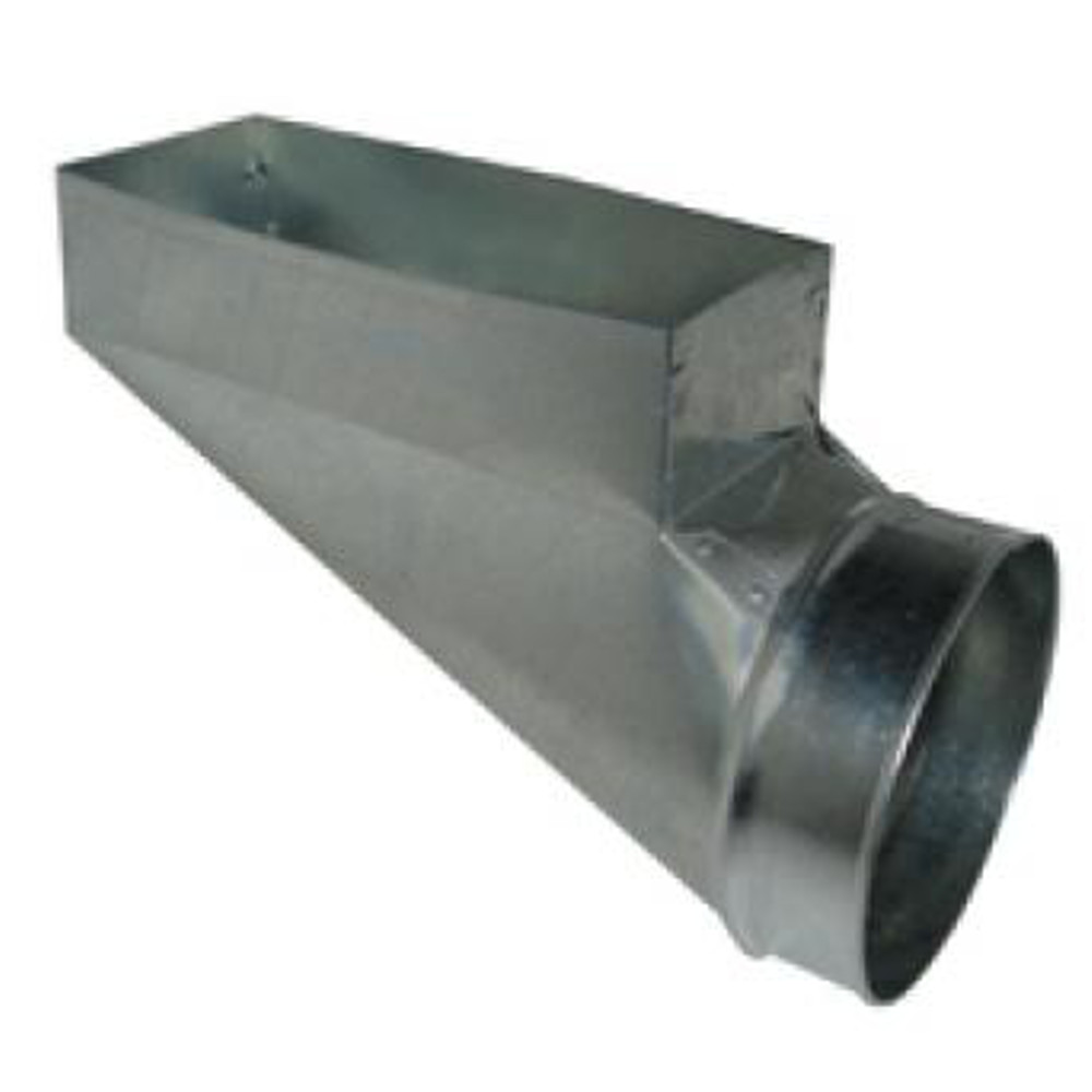 PH3 HVAC Sheet Metal Duct Register Boot